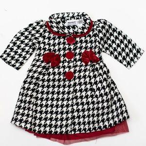 Blueberi Boulevard Dresses - Blueberi Blvd Baby Girl 2pc Dress Set 12m